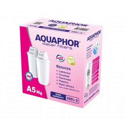 2db Aquaphor A5 Mg kancsó szűrőbetét
